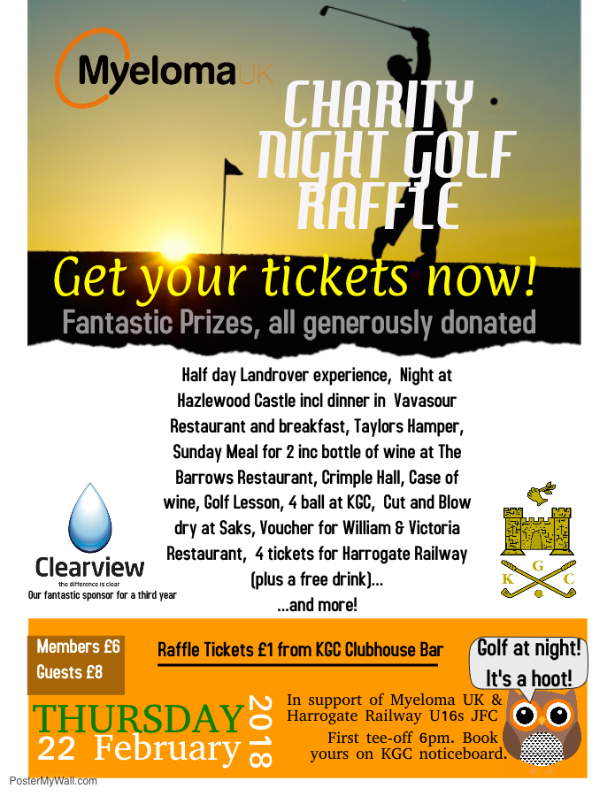 NIGHT GOLF Raffle