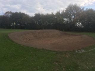 16th bunker after
